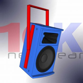 Flying Frames and Loudspeaker Yokes