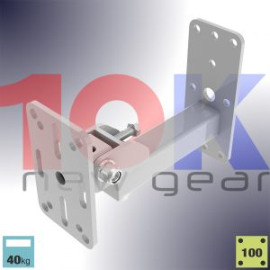 HTKM Series Back Mount Wall Bracket for Wall mounted Speakers up to 40kg