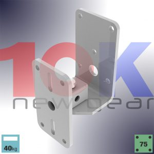 ZX Series Back Mount Wall Bracket for Wall mounted Speakers up to 40kg
